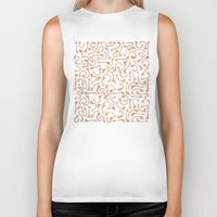 giraffes Biker Tanks featuring Giraffes by Alison Sadler's Illustrations