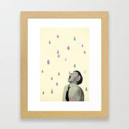 Taste the Rain Framed Art Print