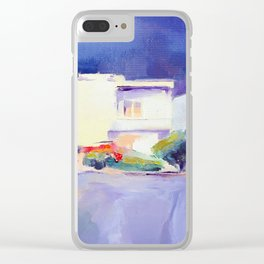 Before the Rain by Diana Grigoryeva Clear iPhone Case