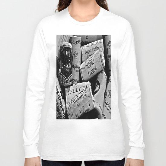 Uncorked B&W Long Sleeve T-shirt