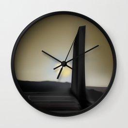 Martian Ancient Alien Artifact Wall Clock