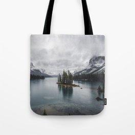 Maligne Lake Jasper Alberta Tote Bag
