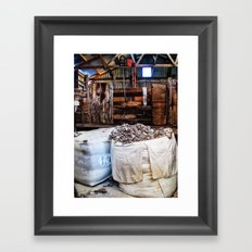 The New Shed Framed Art Print