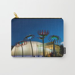Seattle Glass Flowers Space Needle Carry-All Pouch