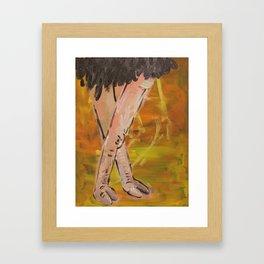 Ostrich Boudoir  Framed Art Print