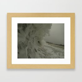 Froth Framed Art Print