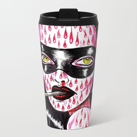 Spidergirl Metal Travel Mug