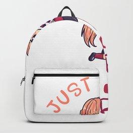 Just A Girl Who Loves Handball Backpack