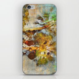 Palm Trees in Pond iPhone Skin