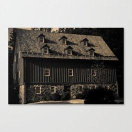 Jerusalem Mill Canvas Print