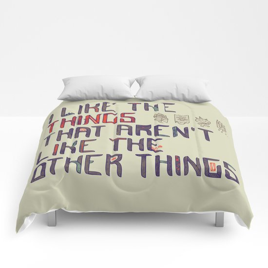 The Things I Like Comforters