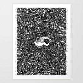YOU & I - DANCING STARS - Visothkakvei Art Print