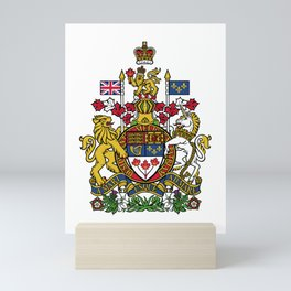 Coat of Arms of Canada Mini Art Print