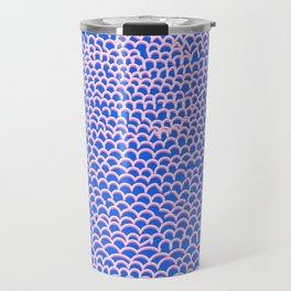 Noodle Doodle Blue Travel Mug