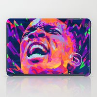 nba iPad Cases featuring ERIC BLEDSOE: NBA ILLUSTRATION V2 by mergedvisible