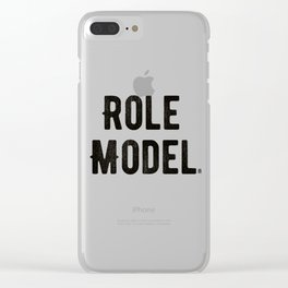 Role Model Clear iPhone Case
