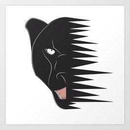panther_vathsan Art Print