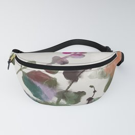 floral abstract summer autumn Fanny Pack