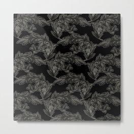 Acanthus Arabesque Metal Print
