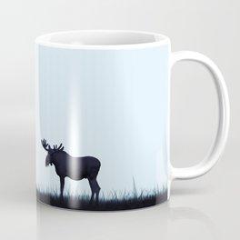 The moose - minimalist landscape Coffee Mug