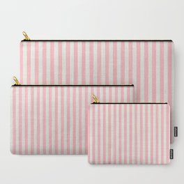 LADY PINK STRIPES Carry-All Pouch