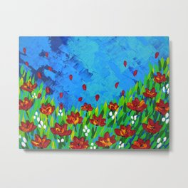 field of hope Metal Print