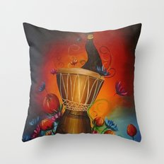 Africa Dream Throw Pillow