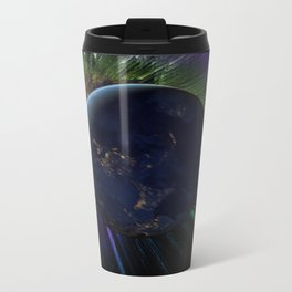 You Run to Catch Up With the Sun (But It's Sinking) Metal Travel Mug