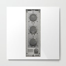 BasiQ knob Metal Print