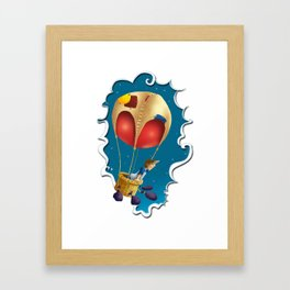 Ballon of dreams Framed Art Print