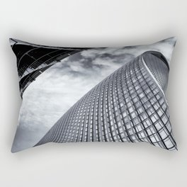 Reach London Fenchurch to the Skygarden Rectangular Pillow
