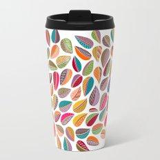 Leaf Colorful Travel Mug