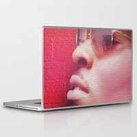 model Laptop & iPad Skins featuring Model by Azeez Olayinka Gloriousclick