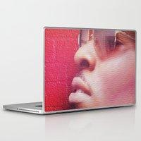 model Laptop & iPad Skins featuring Model by Azeez Olayinka Gloriousclick