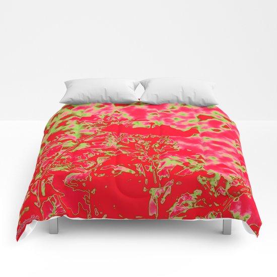 Bright Fire Comforters