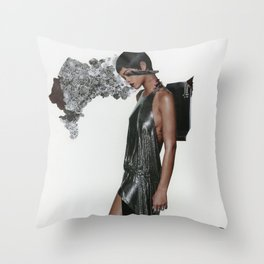 Bad Gal RiRi Throw Pillow