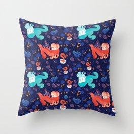 Brrr Throw Pillow