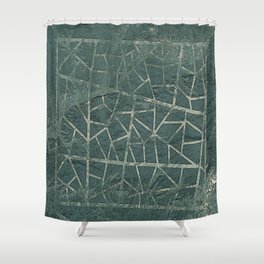 Shapes In The Desert Shower Curtain
