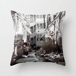 Moist Tart Throw Pillow