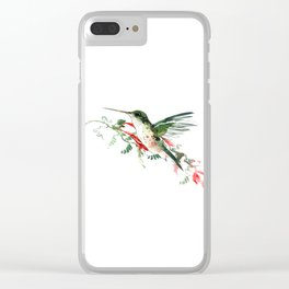 Hummigbird Clear iPhone Case