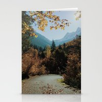 washington Stationery Cards featuring Washington Fall Rd by Kevin Russ