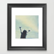 wonderfully free Framed Art Print