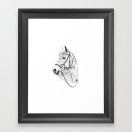 Inka horse Framed Art Print