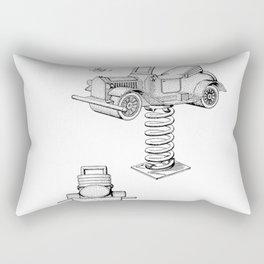 Old school Rectangular Pillow