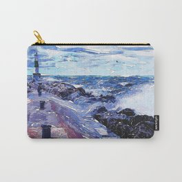 Lake Michigan Waves Carry-All Pouch