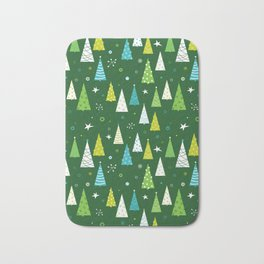 Christmas Forest Bath Mat