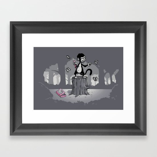 Grandoise delusions Framed Art Print