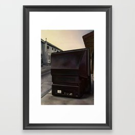 We Love Stories of Imminent Destruction Framed Art Print