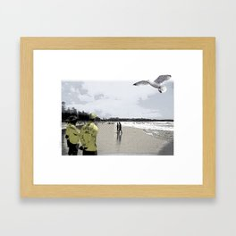 Manly beach Framed Art Print
