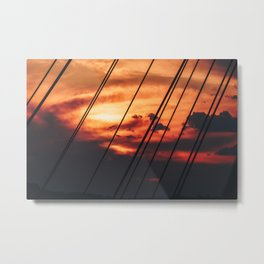 Pescara Sunset Metal Print